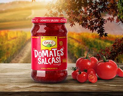 Öncü Tomato Paste Package Design | Repackaging
