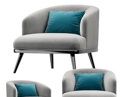 Soft Sofa 3D Visualization