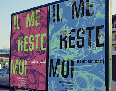 IL ME RESTE MOI - theatre poster