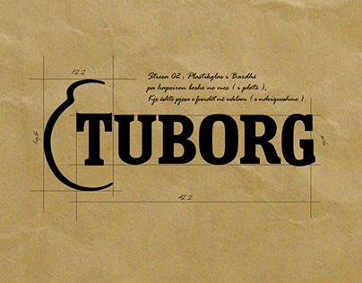 Tuborg Indor 3D Sign