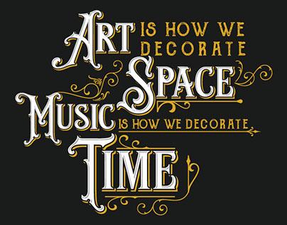 Bridging the Gap; Art Meets Music