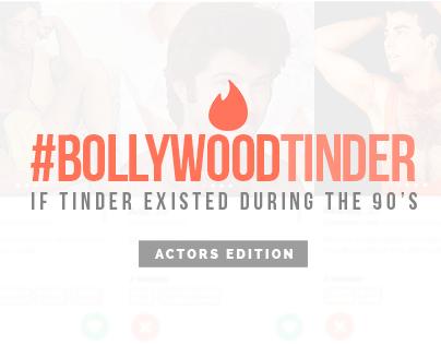 Vintage Bollywood Tinder Profiles - #TinderDuring90s