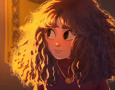Hermione Granger - Harry Potter fan art