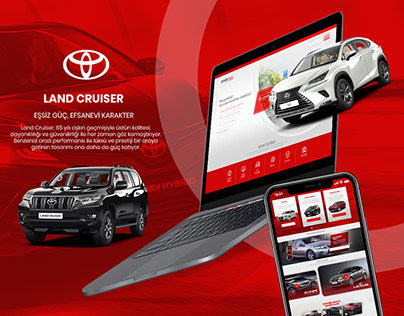 Toyota Plaza Web Design