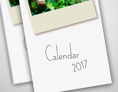 Handmade Calendar 2017