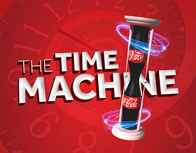 """The Time Machine"" Key Visual proposal for Coca-Cola"