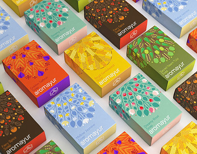 Aromayur - Identity & Packaging Design