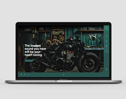 Olly's Motor Co. Website Concept