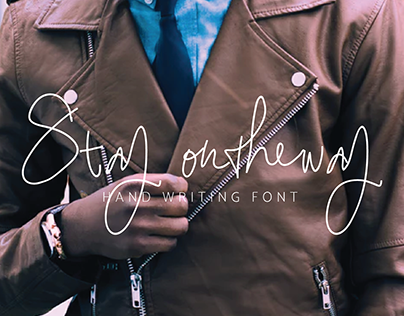 FREE FONT - Stay ontheway