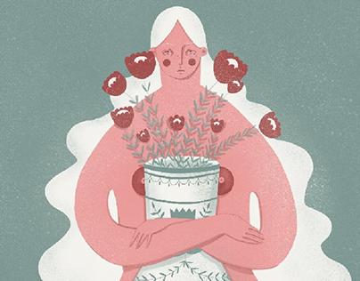 Dziewczyna z wazonem