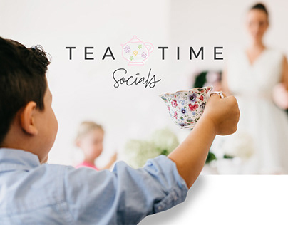 Tea Time Socials Branding & Website