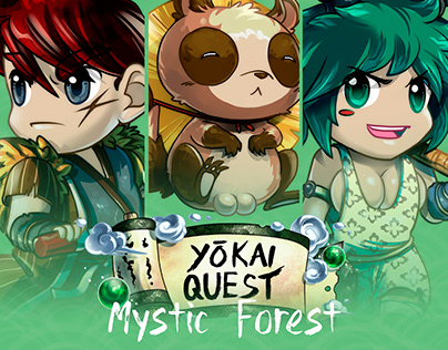 Yokai Quest - Mystic Forest · Heroes and pets