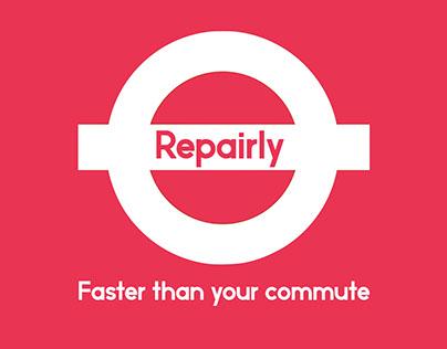Repairly London Tube Strike Promo