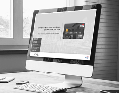Campaña Tarjeta Visa Infinite Corporativa de Citibank