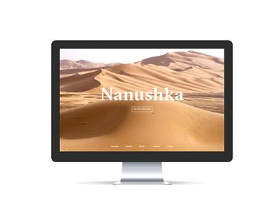 Nanushka Web Layout