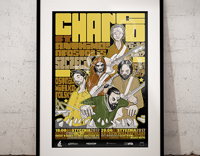 Gig Poster for Chango