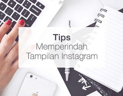 Tips Memperindah Tampilan Instagram