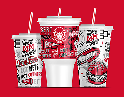Wendy's March Madness 2019 Cups