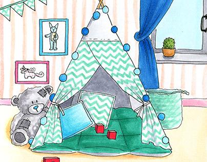 Illustrations for the online store VamVigvam