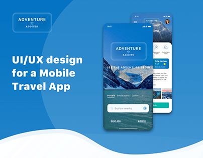 UI/UX | Mobile Travel App