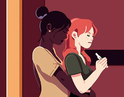 Le Temps : la PMA chez les couples lesbiens