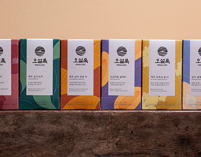 Osulloc Blended Tea Line