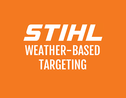 STIHL Weather-Based Targeting