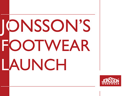 Jonsson's Footwear Launch