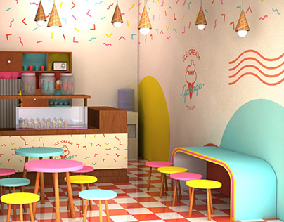 Ice Cream Garage Brand Identity