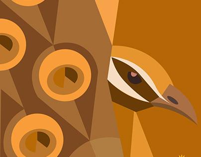 monocrome illustration designs
