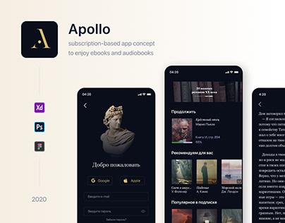 Apollo — online library app
