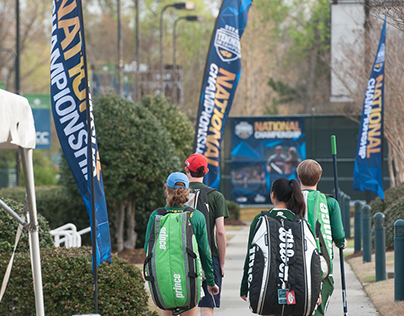 USTA Tennis On Campus National Championship Signage