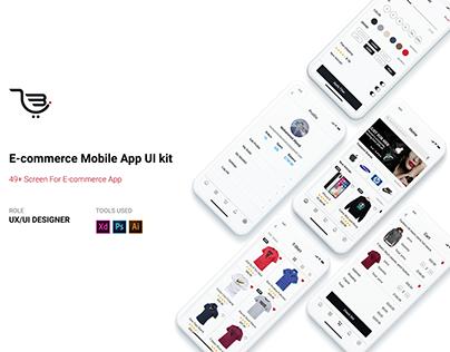 Metro Store | E-commerce UI Kit For iOS