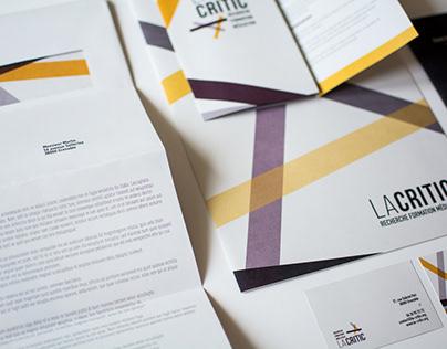 La Critic // Visual identity