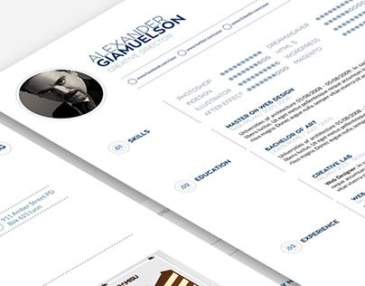 Minimal&Easy Resume Template