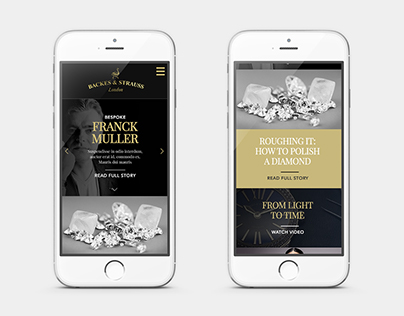 Backes & Strauss - Responsive Website