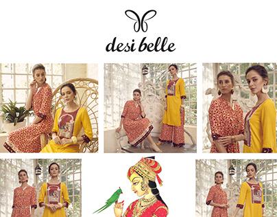 Desi Belle Spring Summer 2019 Campaign