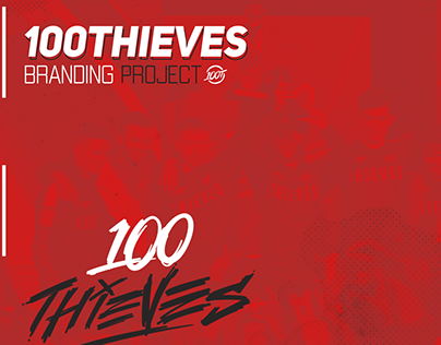 100 Thieves Branding Project