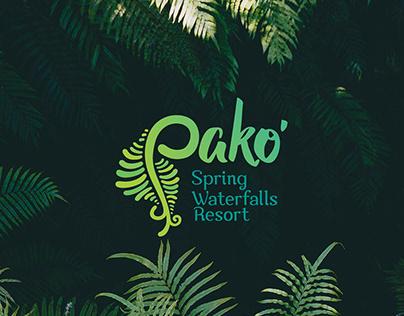 Pako Spring Waterfalls Resort - Branding