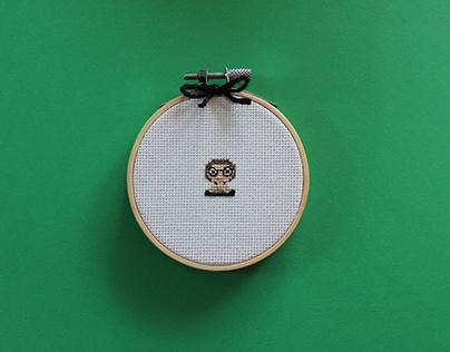 Tiny Feminist Cross Stitch Series