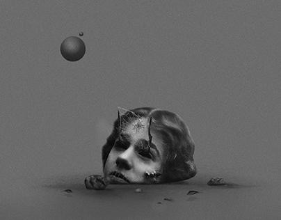 El olvido   Collage serie 003
