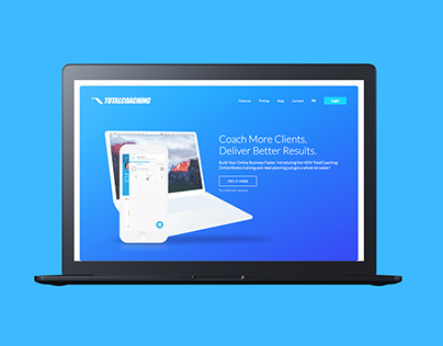 Total Coaching website redesign