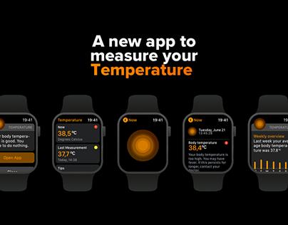 watchOS Temperture — Concept app
