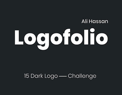 15 Dark Logo Challenge & Branding