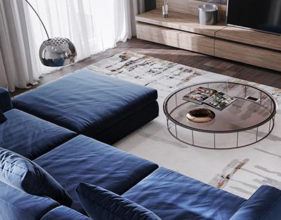 Interior Design Rug