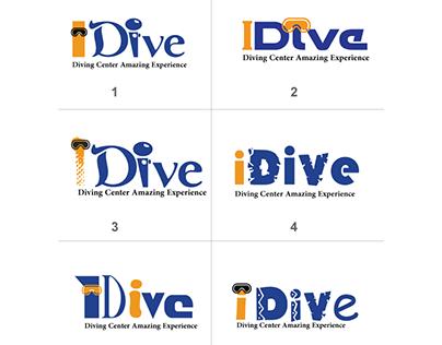 Logo Idive (diving center in sharm Elsheikh)