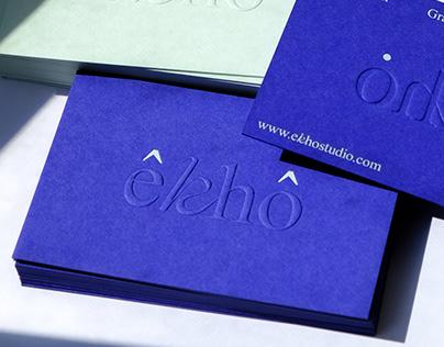 êkhô studio business card