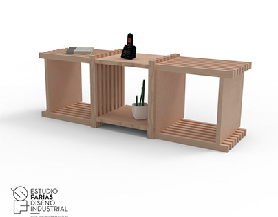 Mobiliario Módulo.