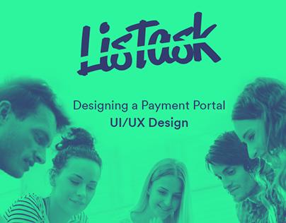 Payment Portal | UI/UX Design