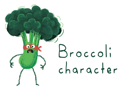Mr. Broccoli charecter